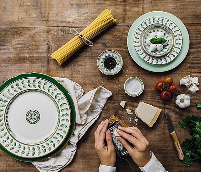 Σερβίτσιο πιάτων-φαγητού Limoges Bernardaud Constance-Constance