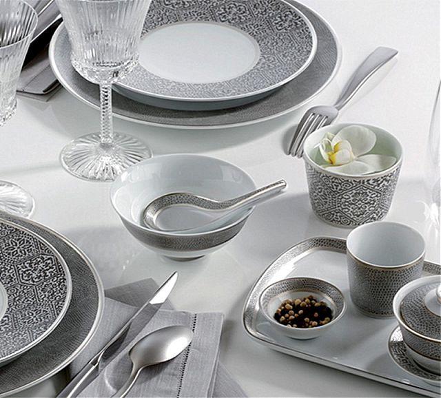 Σερβίτσιο πιάτων-φαγητού Limoges Bernardaud Sauvage-Sauvage