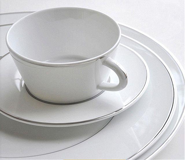 Σερβίτσιο πιάτων-φαγητού Limoges Bernardaud  Argent- Argent