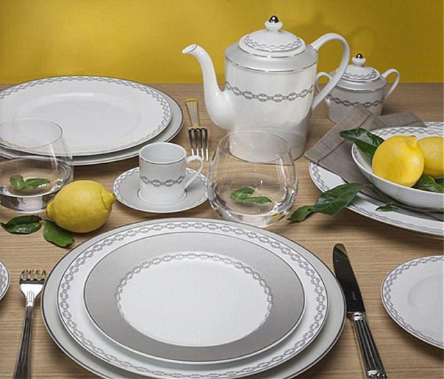 Σερβίτσιο πιάτων-φαγητού Limoges Bernardaud Loft-Loft