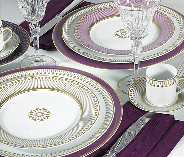 Σερβίτσιο πιάτων-φαγητού Limoges Bernardaud Soleil Levant-Soleil Levant