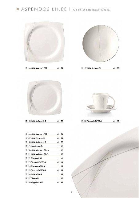 Σερβίτσιο πιάτων-φαγητού Fade Aspendos-Linee