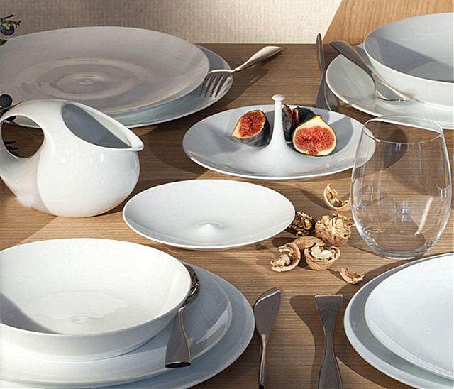 Σερβίτσιο πιάτων-φαγητού Limoges Bernardaud Bulle -Bulle
