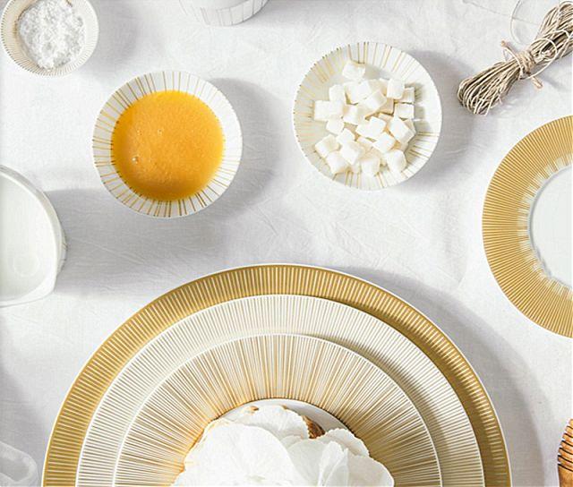 Σερβίτσιο πιάτων-φαγητού Limoges Bernardaud Sol-Sol
