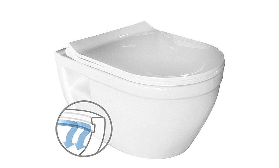 Λεκάνη τουαλέτας Vitruvit Basic-Polo Rimless