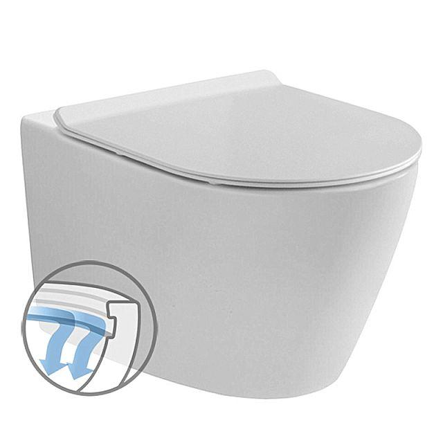 Λεκάνη τουαλέτας Vitruvit Superior-Messina Rimless
