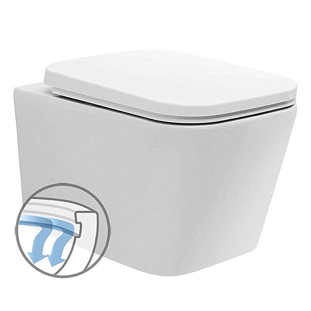 Λεκάνη τουαλέτας Vitruvit Superior-Modena Rimless