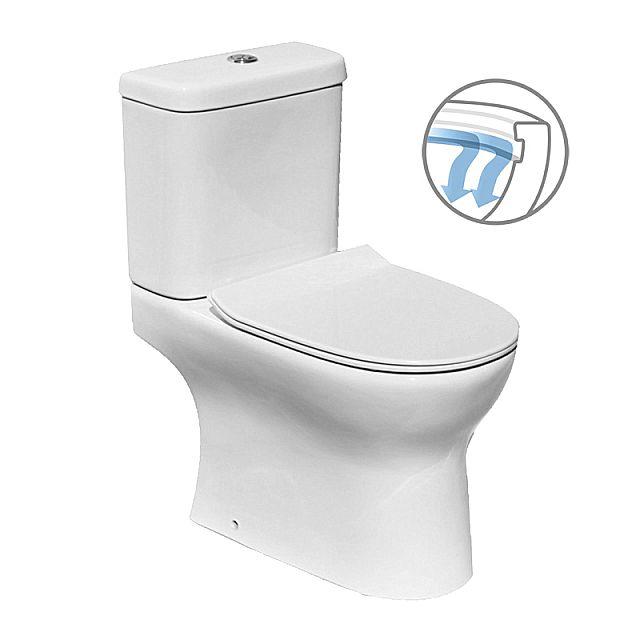 Λεκάνη τουαλέτας Vitruvit Basic-Advanced Rimless