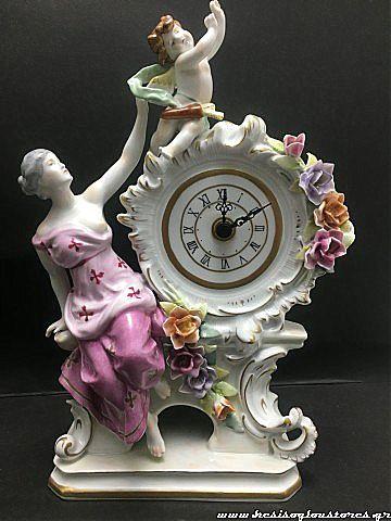 Ρολόι επιτραπέζιο Plaue porzellan Manufaktur 337-142