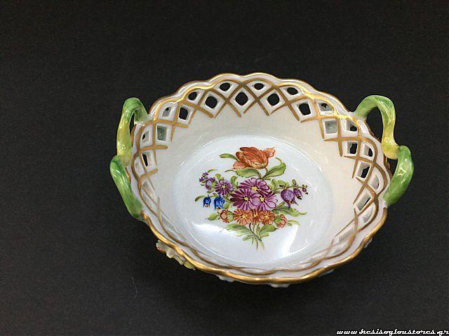 Κουπ διακοσμητικό Dresden Porzellan manufaktur Vintage-388