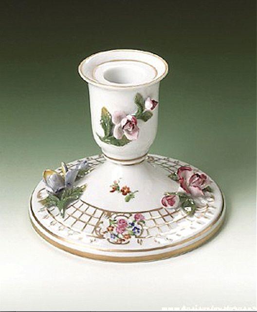 Κηροπήγιο Dresden Porzellan manufaktur Vintage-10930