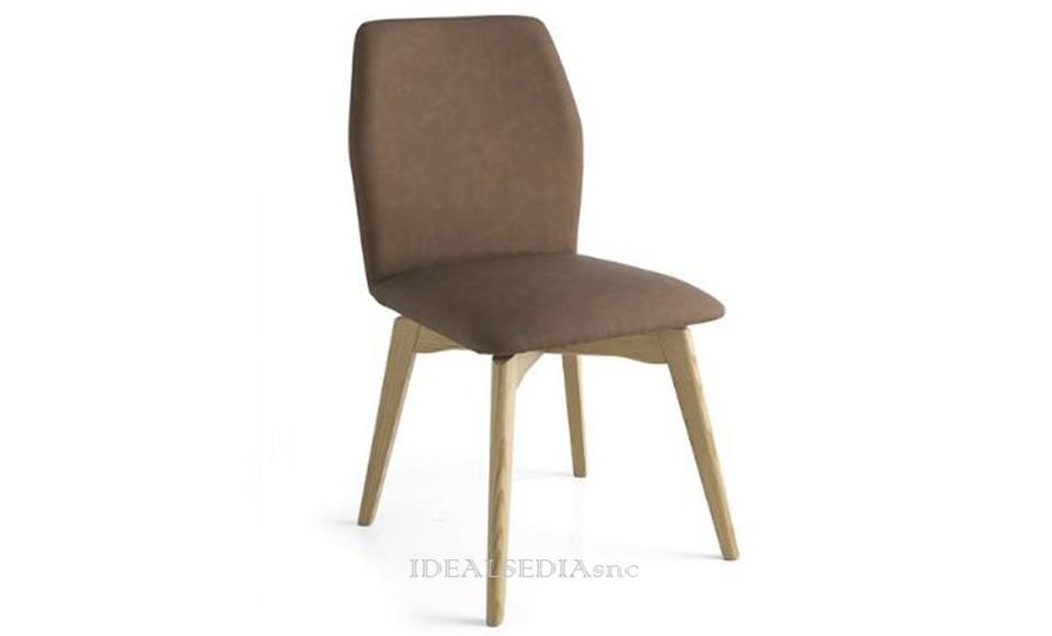 Καρέκλα τραπεζαρίας Connubia Calligaris Hexa-CB1936-V