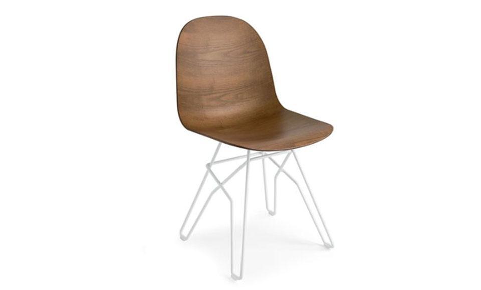 Καρέκλα τραπεζαρίας Connubia Calligaris Academy-CB1664-3D