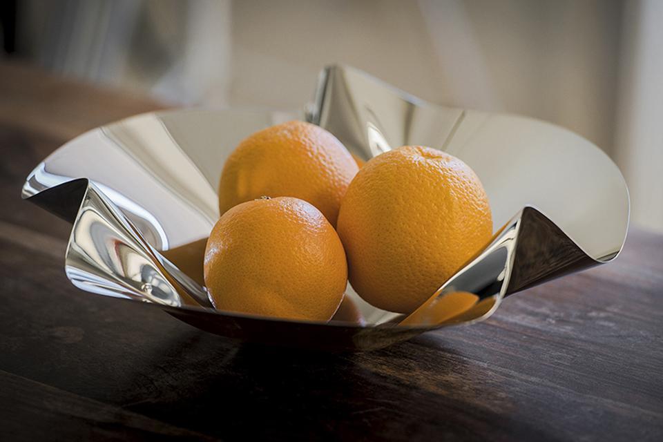 Φρουτιέρα σειράς Margarethe της Philippi με πορτοκάλια