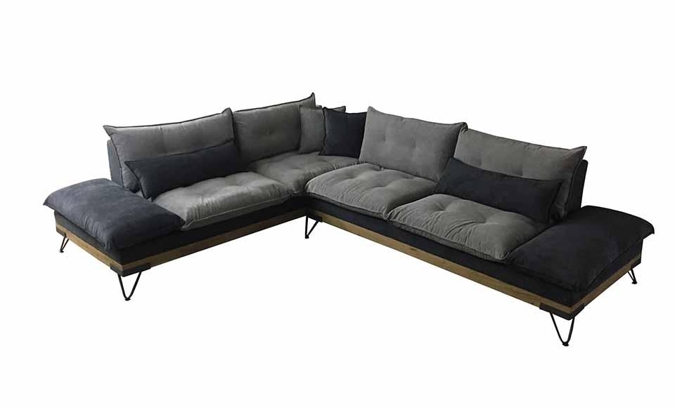Καναπές γωνιακός Sofa And Style Ambassador-Ambassador  P-22