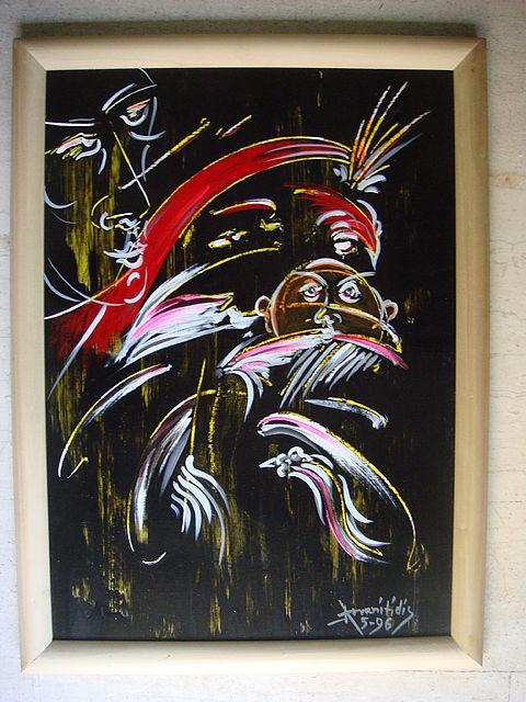 Πίνακας ζωγραφικής Αρβανιτίδης 039-039