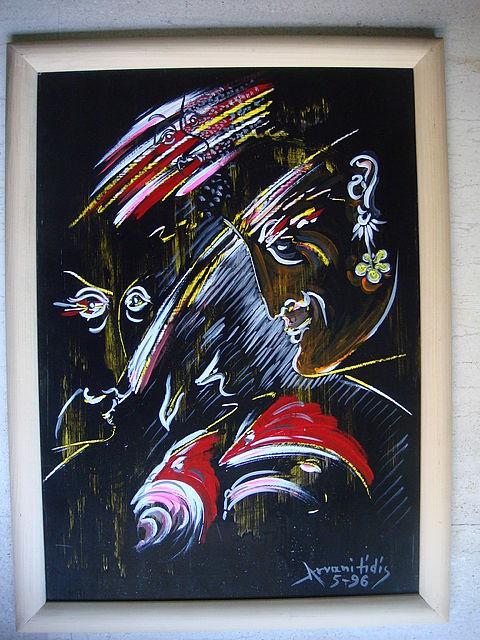 Πίνακας ζωγραφικής Αρβανιτίδης 040-040