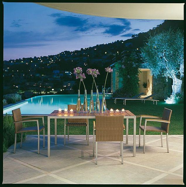Τραπέζι τραπεζαρίας Roberti Rattan Greenfield-Santorini