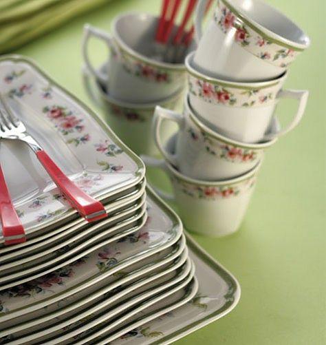 Σερβίτσιο πιάτων-φαγητού Ιωνία Romantica-Romantica
