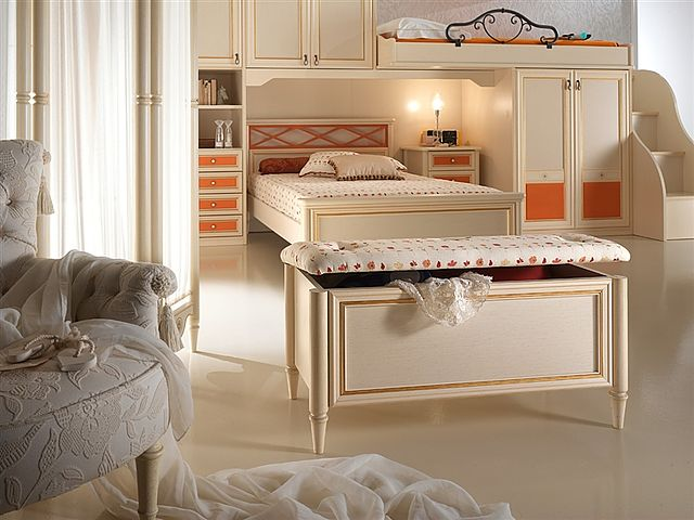 Παιδικό-Εφηβικό δωμάτιο Sofa And Style Diletta-gold,proposta 100