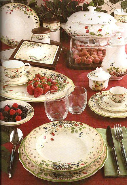 Σερβίτσιο πιάτων-φαγητού Tiffani Sottobosco-Sottobosco