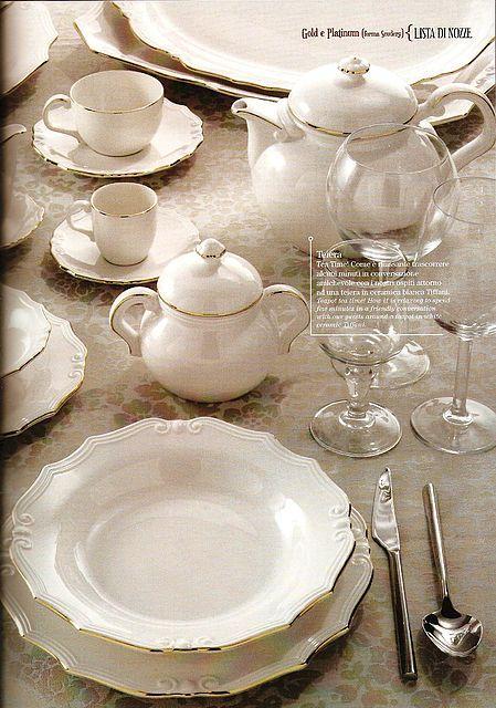 Σερβίτσιο πιάτων-φαγητού Tiffani Light Ivory-Light Ivory