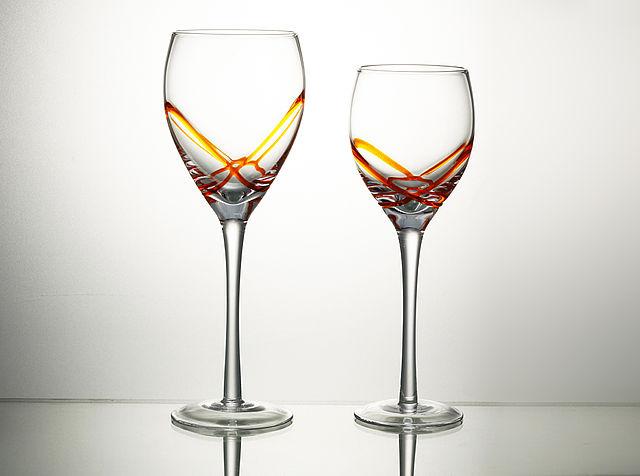 Σερβίτσιο ποτηριών Cryspo Trio X-treme-X-treme orange