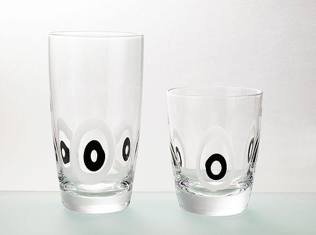Σερβίτσιο ποτηριών Cryspo Trio Pua-Black