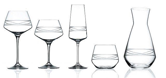 Σερβίτσιο ποτηριών Da Vinchi Infinito-