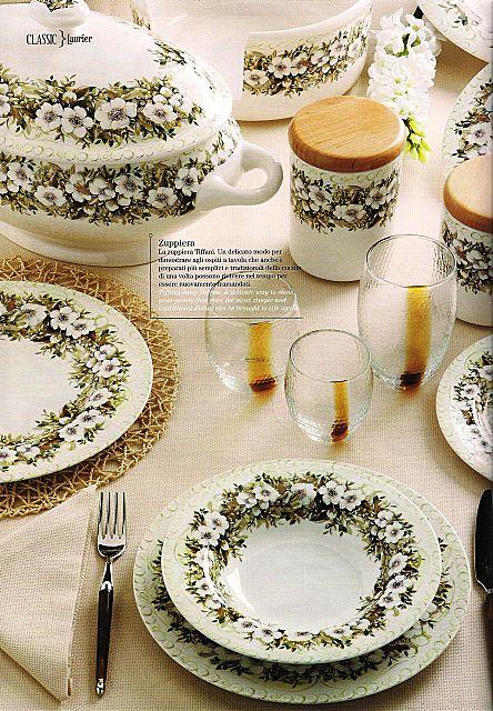 Σερβίτσιο πιάτων-φαγητού Tiffani Classic-Laurier
