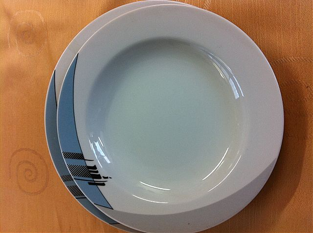 Σερβίτσιο πιάτων-φαγητού Thun (Bohemia)  Swan d1-Swan d1