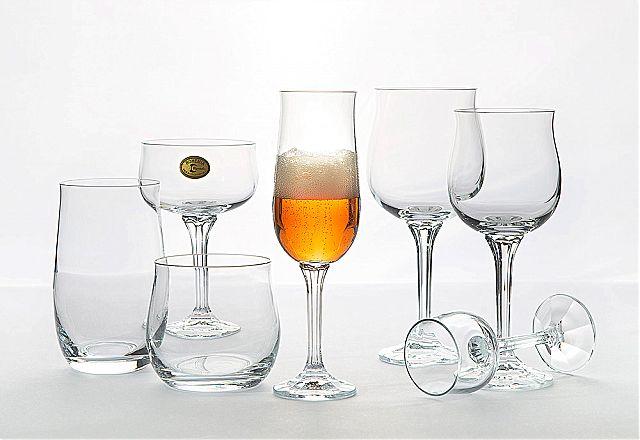 Σερβίτσιο ποτηριών Bohemia Cristal Dianna-Dianna