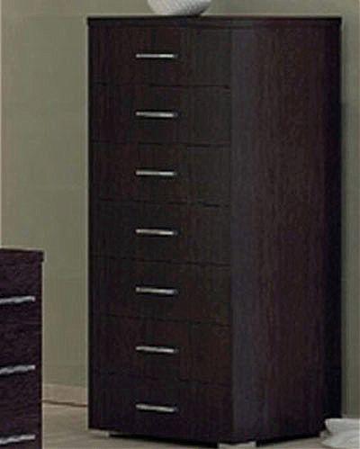 Συρταριέρα κρεβατοκάμαρας Oikia kantis Νο 6-Νο 6 Wenge