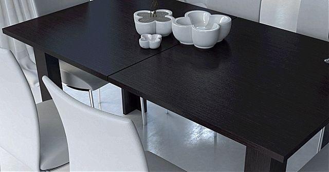 Τραπέζι τραπεζαρίας Oikia kantis Φαίη-Νο 81 Wenge