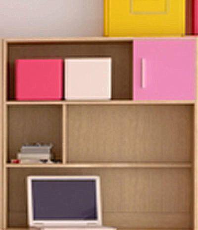 Παιδική εταζέρα/Παιδικό ράφι Oikia kantis Νο 14-Νο 14 ροζ