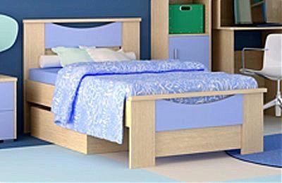 Παιδικό Κρεβάτι Oikia kantis Smile-Νο 15 Σιελ