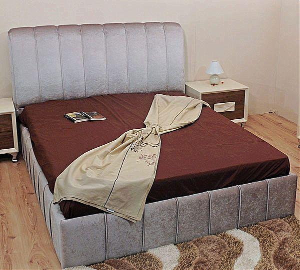 Κρεβάτι επενδυμένο Sofa di Rodi  Kleopatra-Kleopatra 01