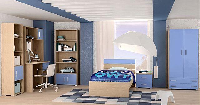 Παιδικό-Εφηβικό δωμάτιο Oikia kantis Nota-Nota Σιέλ