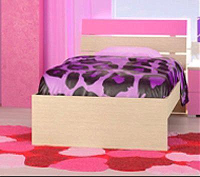 Παιδικό Κρεβάτι Oikia kantis Νο Γ52-Νο Γ52 Ροζ