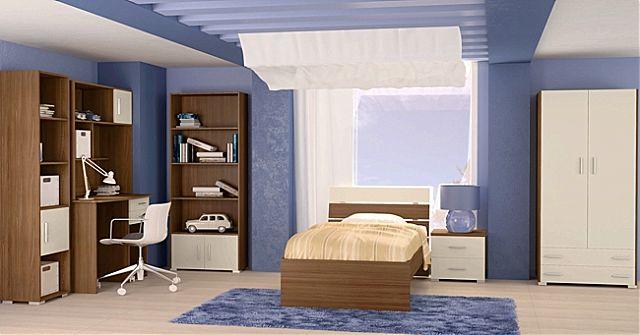 Παιδικό-Εφηβικό δωμάτιο Oikia kantis Nota-Nota Εκρού
