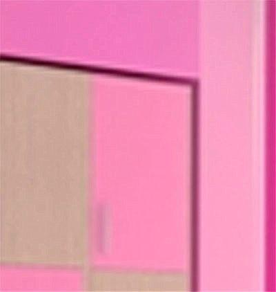 Παιδικό Πατάρι Ντουλάπας Oikia kantis Νο 32-Νο 32 Ροζ