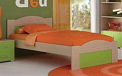 Παιδικό Κρεβάτι Oikia kantis Wave-No 48 Λαχανί