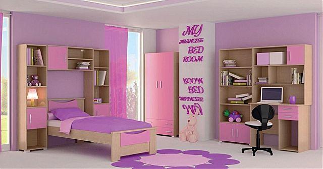 Παιδικό-Εφηβικό δωμάτιο Oikia kantis Smile-Smile 6 Ροζ
