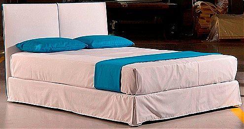 Κρεβάτι επενδυμένο Sofa And Style dafni-dafni