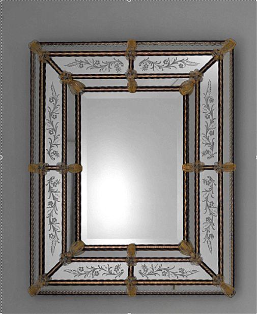 Καθρέφτης Frateli Tossi Venetian Style-Rett